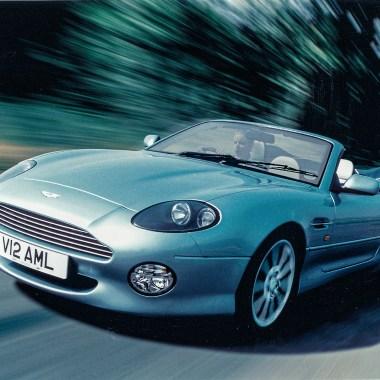 #45, Aston Martin, DB7, DB9