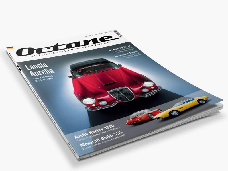 OCTANE #38, Lancia Aurelia B24 Spider, Werks-Austin Healey 3000,VW Beutler Coupé,Maserati Ghibli SSS,Mercedes-Benz G 230, Alfa Romeo Tipo 33 TT12