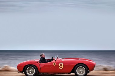 #21, Ferrari, 375 MM Spider, Phil Hill, Barchetta