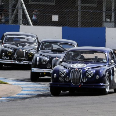 Jaguar Mk1 Renntourenwagen VYM454 Donington Park