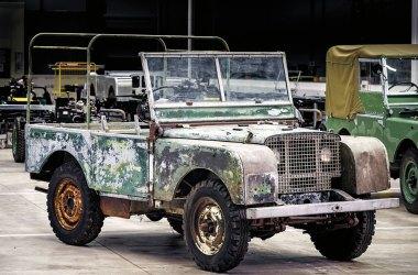 Land Rover, Serie 1, Prototyp, Isle of Islay