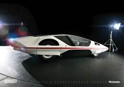 Ferrari Modulo - OCTANE Klassiker Kalender 2019 – August