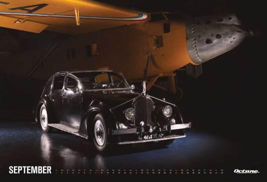 Voisin - OCTANE Klassiker Kalender 2019 – September