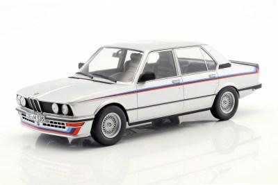BMW M535i E12 Baujahr 1980 silber metallic 1:18 Norev