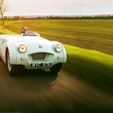 #34, Triumph, TR2, Weltrekord, Ken Richardson
