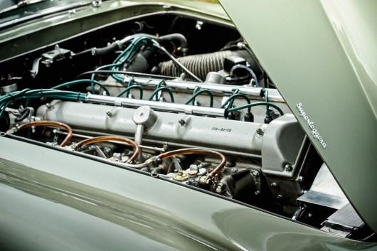 Reihensechszylinder des Aston Martin DB4 GT