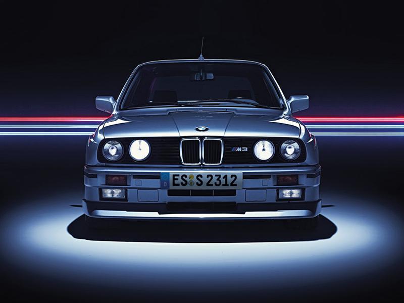 BMW E30 M3 frontal