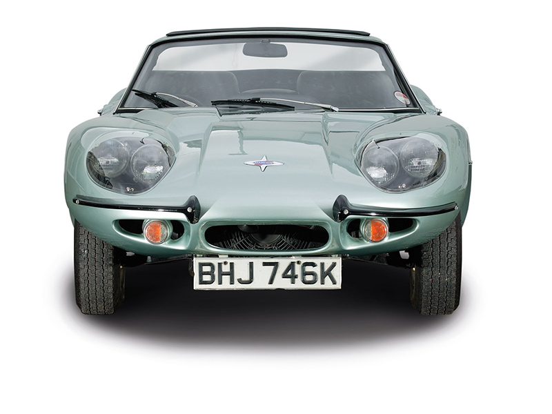 Marcos GT frontal