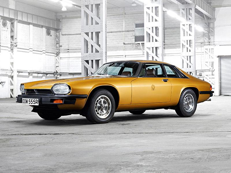 Jaguar XJ-S stehend