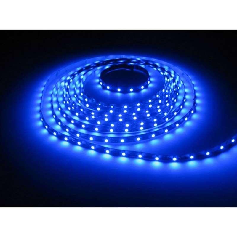 15ft 12v rv motorhome trailer blue led under glow waterproof light bulb strip