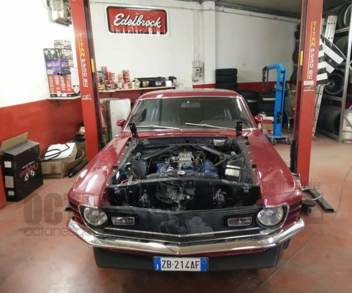 OFFICINA SPECIALIZZATA MUSTANG