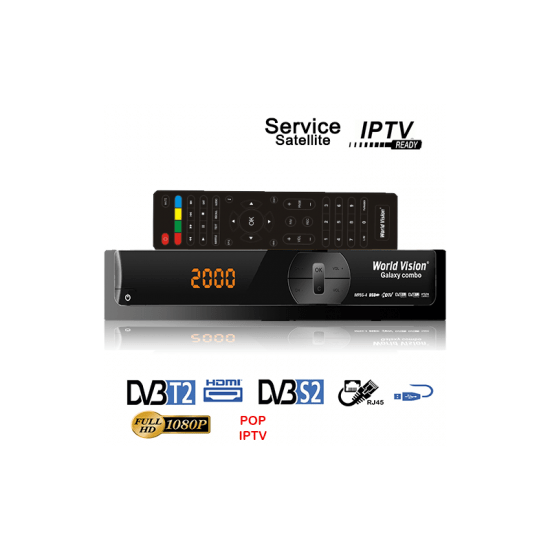 World vision galaxy combo 12 mois server vanilla pop iptv 12 mois