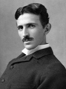 Nikola Tesla by Napoleon Sarony