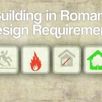 Architectural Design Requirements in Romania