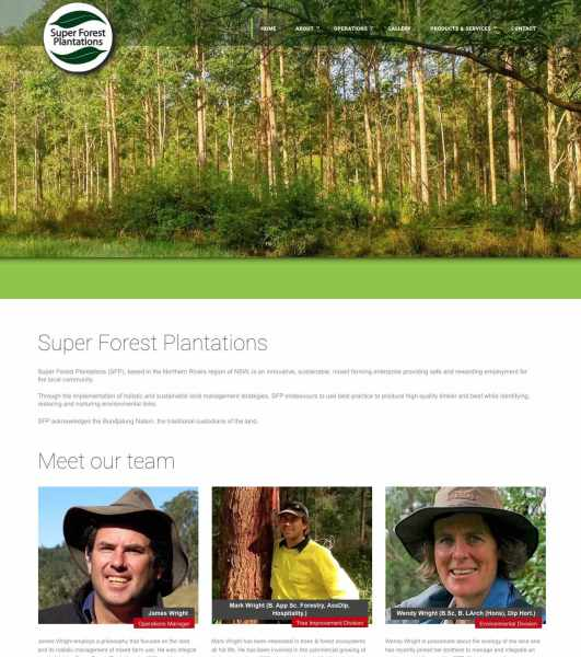 Super Forest Plantations