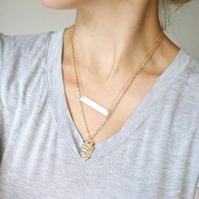 Who needs a layering necklace to go with their bars?hellip