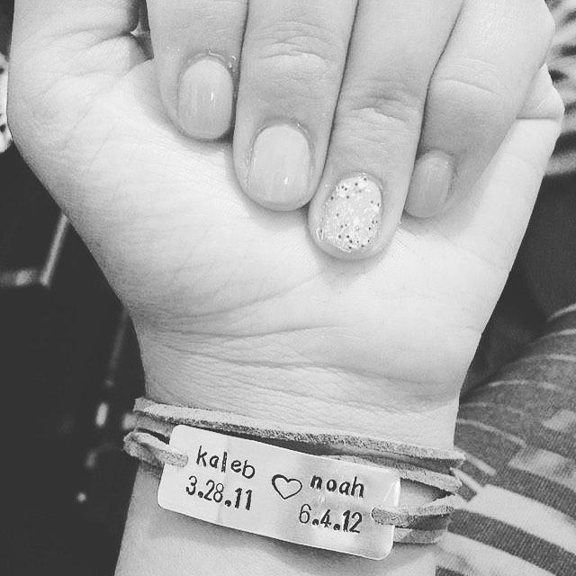 Still one of my favorites Our original mommy wrap braceletshellip