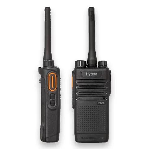 Hytera PD41X Walkie Talkie Patrol System