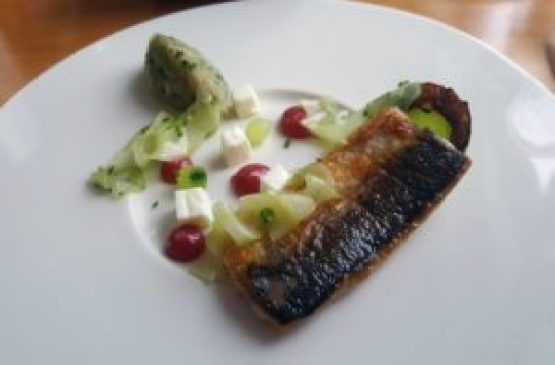 Slice Swansea Fish Course