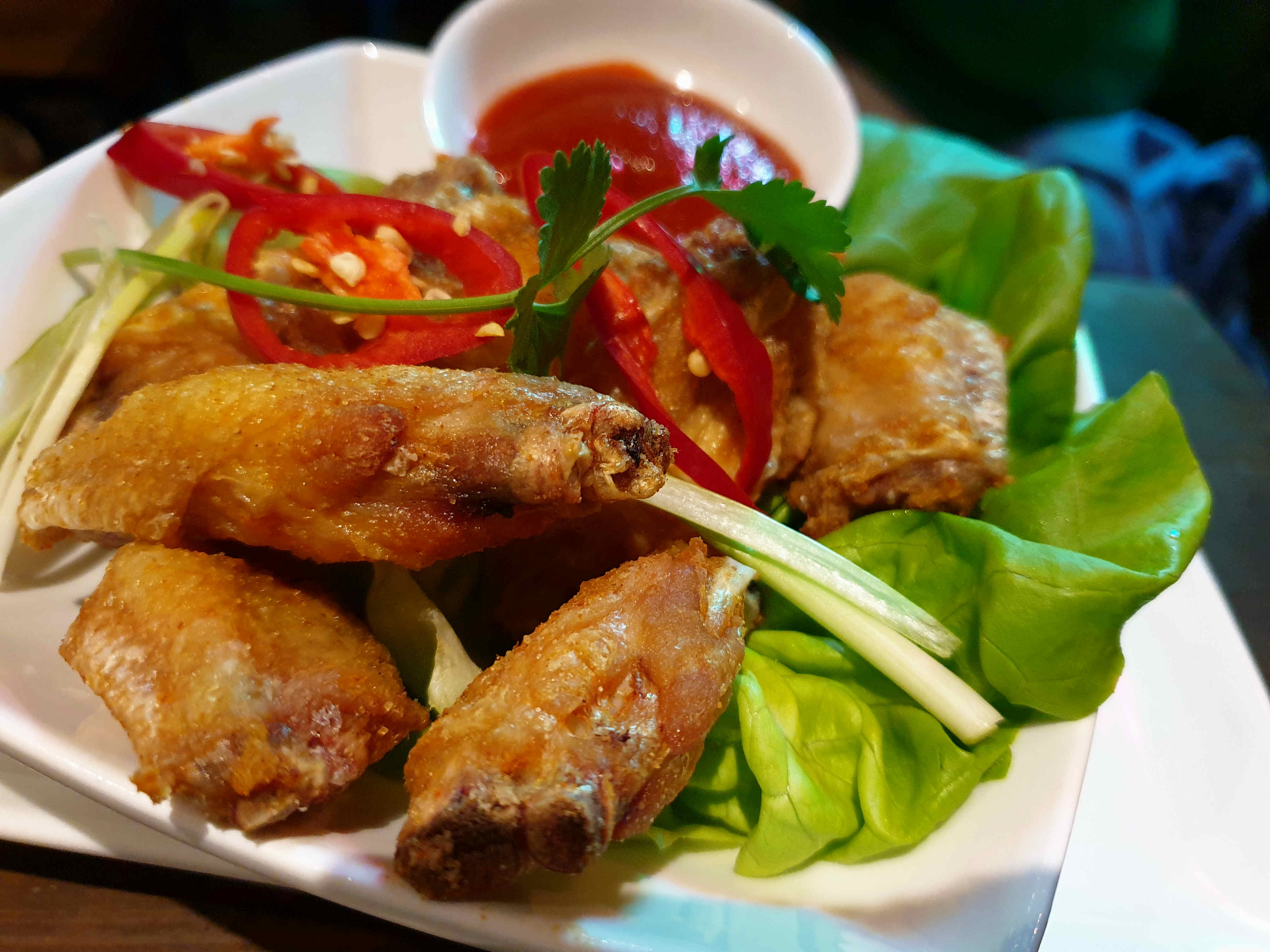 Chicken Wings Pho Cardiff