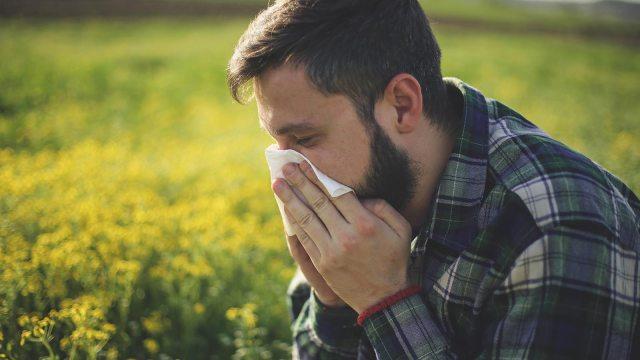 riesgo de resfriados y gripe