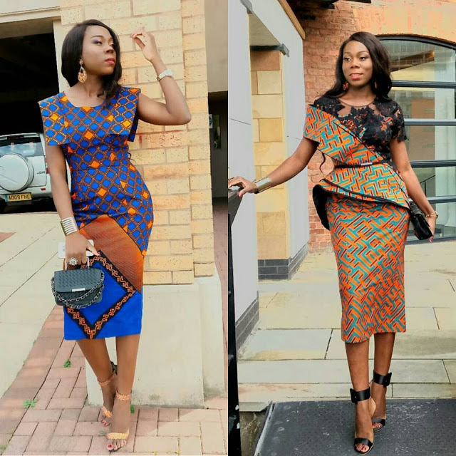 Ladies: See 45 Pictures Of Latest Ankara Styles 2017