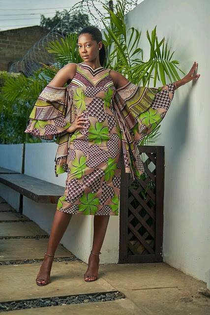 checkout these creative, unique and modern ankara dress styles - Ankarastyles2018 Od9jastyles2810729 - Checkout These Creative, Unique and Modern Ankara Dress Styles