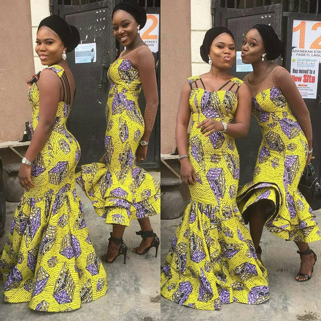 checkout these creative, unique and modern ankara dress styles - Ankarastyles2018 Od9jastyles281529 - Checkout These Creative, Unique and Modern Ankara Dress Styles
