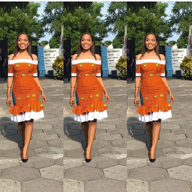 checkout these creative, unique and modern ankara dress styles - Ankarastyles2018 Od9jastyles28329 - Checkout These Creative, Unique and Modern Ankara Dress Styles