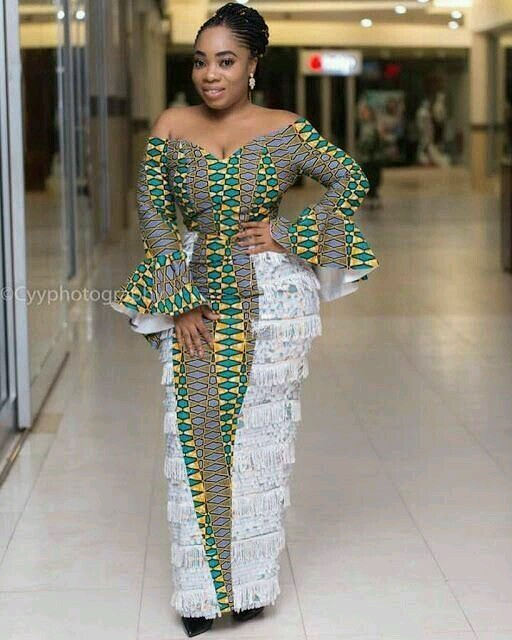 checkout these creative, unique and modern ankara dress styles - Ankarastyles2018 Od9jastyles284829 - Checkout These Creative, Unique and Modern Ankara Dress Styles