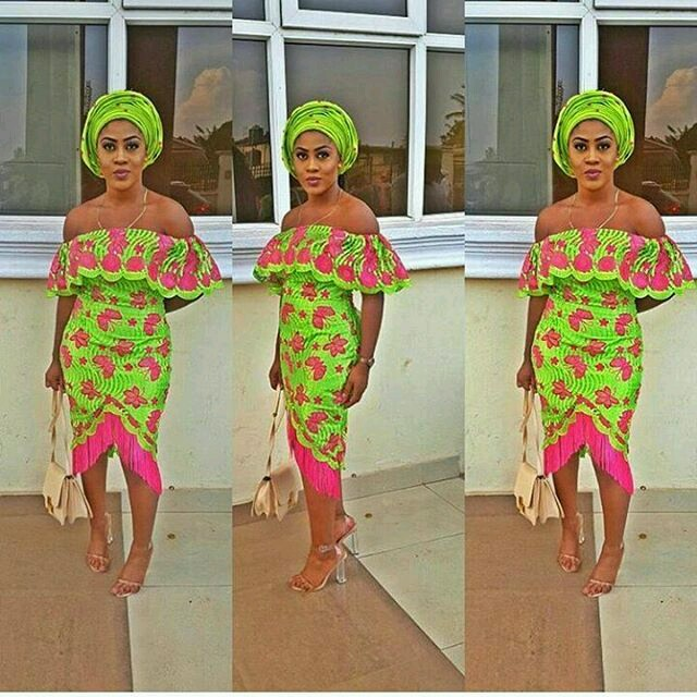 checkout these creative, unique and modern ankara dress styles - Ankarastyles2018 Od9jastyles287329 - Checkout These Creative, Unique and Modern Ankara Dress Styles