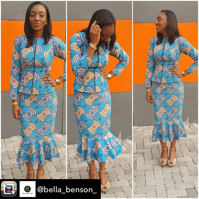 check out these african fashion ankara styles new ankara designs for ladies and be inspired. - AnkarastylesandHealthcaretips28 - Check Out These African fashion Ankara styles New Ankara designs for Ladies and be Inspired.