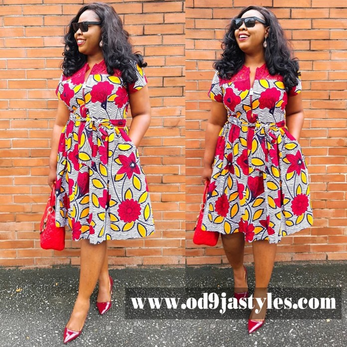 32 Different Style Dresses of Latest Ankara Trends for Ladies