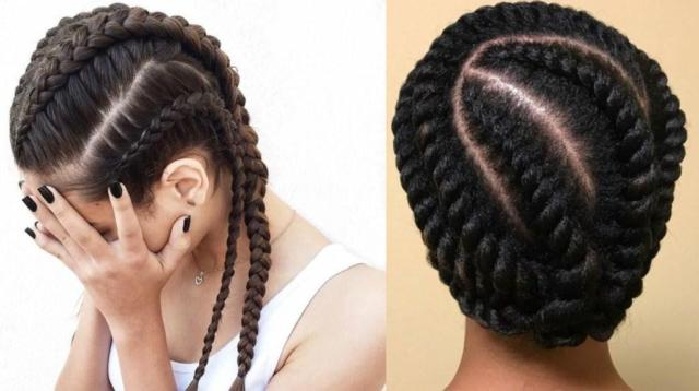 cornrows hairstyle 2018 diy
