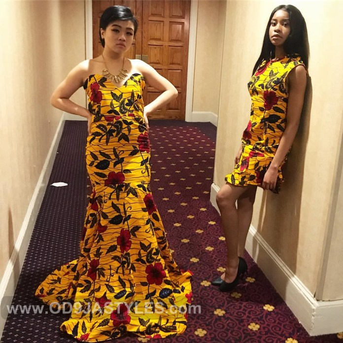 d4f117a5964 35 ULTRA-MODERN ANKARA STYLES FOR WEDDING OCCASION LONG GOWN STYLES 2019 35  ULTRA-