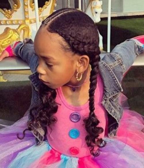 Little Black girls\' 40+ Braided Hairstyles