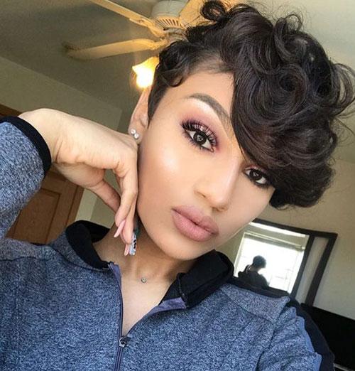 short hair cuts on black women 24
