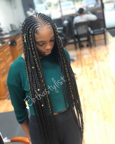 Braid hairstyles for ladies braid hairstyles - ebthastylist 1551826686 - Gorgeous, Trendy and Stunning Braid hairstyles for Ladies