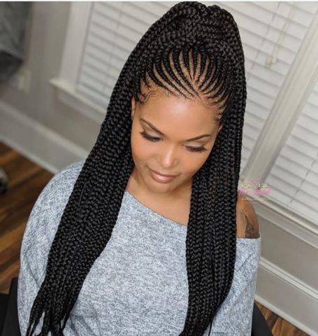 2019 Ghana Weaving Hairstyles: Beautiful African Braids Hair Ideas for Ladies
