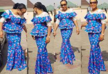d90f04060621af Amazing, Creative Ankara Skirt and Blouse Styles for Your Next Owambe Party