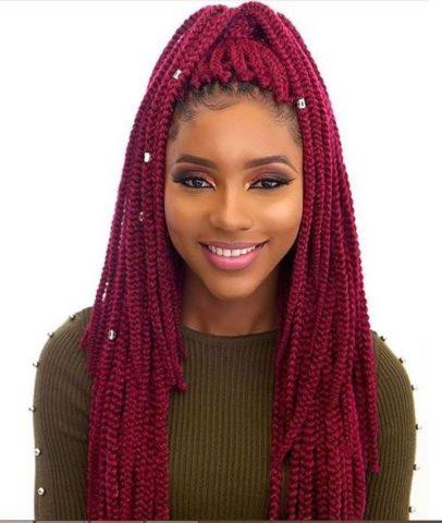 best 2019 braided hairstyles  braiding box braids