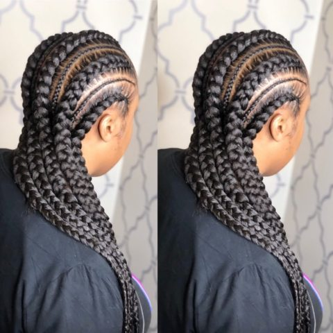 cute ghana weaving hairstyles  latest ankara styles