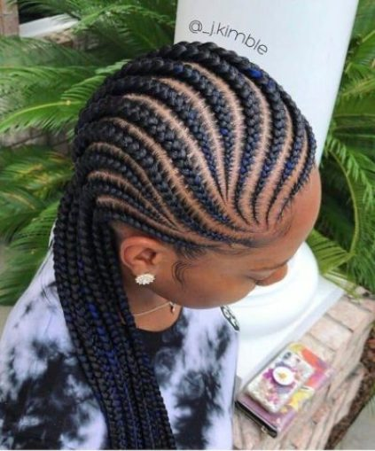 "Ghana Braids Designs and Styles 2019 Ghana Braids Designs and Styles ""Cute Hairstyles for Classic Ladies"", 2019 braids styles, black braids 2019, box braids, braid hairstyles 2020, braids hairstyles, braids hairstyles 2019, braids hairstyles 2019 pictures, different types of braids with pictures, fashion and style 2019, fashion and style magazine, fashion nigerian traditional styles, ghana braids 2018, ghana braids ponytail, ghana braids styles 2019, ghana braids styles 2019 pictures of ghana braids styles, ghana braids to the side, ghana braids updo, jumbo ghana braids, latest 2019 braids, latest native styles for ladies 2019, latest nigerian fashion styles, nigerian fashion gallery, nigerian fashion styles pictures, nigerian female native styles, Hairstyles, od9jastyles"