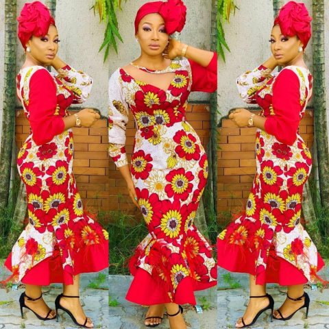 Trendy Pictures Of Latest Ankara Gown Styles For Ladies