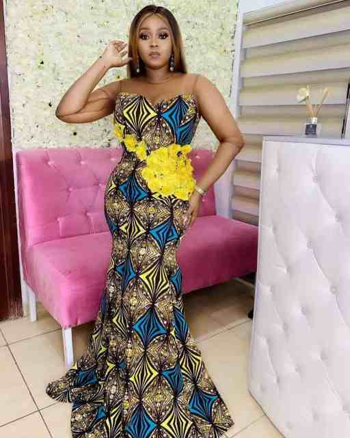Ankara Gown Styles for Ladies ankara gown styles for ladies - Ankara Gown Styles for Ladies 1 512x640 - 50 Gorgeous Ankara Gown Styles for Ladies – Ankara Styles Pictures [2020 Trends]