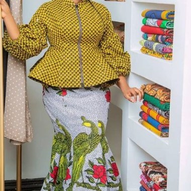 ankara latest styles ankara latest styles - Ankara Latest Styles 14 380x380 - African Fashion: 70+ Creative, Trendy and Stylish Ankara Latest Styles