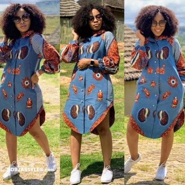 ankara latest styles ankara latest styles - Ankara Latest Styles 21 380x380 - African Fashion: 70+ Creative, Trendy and Stylish Ankara Latest Styles