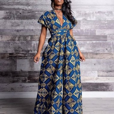 ankara latest styles ankara latest styles - Ankara Latest Styles 35 380x380 - African Fashion: 70+ Creative, Trendy and Stylish Ankara Latest Styles