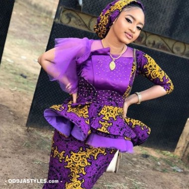 ankara latest styles ankara latest styles - Ankara Latest Styles 37 380x380 - African Fashion: 70+ Creative, Trendy and Stylish Ankara Latest Styles