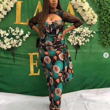ankara latest styles ankara latest styles - Ankara Latest Styles 43 380x380 - African Fashion: 70+ Creative, Trendy and Stylish Ankara Latest Styles